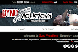 GynoViolations the best site for BDSM videos