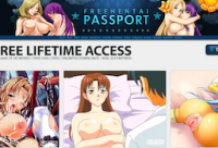 Nice membership adult website offering hot hentai material