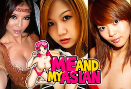 MeAndMyAsian is the finest pay adult website if you're up for hot Asian porn material