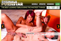 the finest paid porn site if you're into awesome shemale material