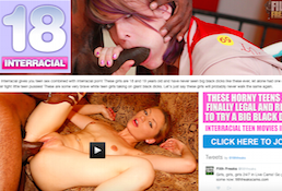 One of the greatest porn site offering some fine interracial quality porn